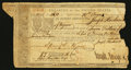 Colonial Notes:Continental Congress Issues, Treasury of the United States Warrant $7.56 January 1, 1791Anderson US-UNL.. ...