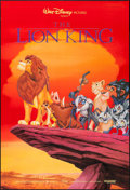 "Movie Posters:Animation, The Lion King (Buena Vista, 1994). One Sheet (27"" X 40"") SS. Animation.. ..."