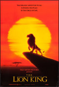 "Movie Posters:Animation, The Lion King (Buena Vista, 1994 and R-2002). International and Reissue Advance One Sheet (27"" X 40""). SS and DS Advance. An... (Total: 2 Items)"