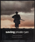 "Movie Posters:War, Saving Private Ryan (New Market, 1998). Autographed Hardbound Book With Dustjacket (10.5"" X 12.5""). War.. ..."