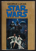 """Movie Posters:Science Fiction, Star Wars by George Lucas (Del Rey, 1977). Autographed HardboundNovel With Dust Jacket (183 Pages) (6"""" X 8.5""""). Science Fic..."""