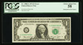 Fr. 1908-G $1 1974 Federal Reserve Note. PCGS Choice About New 58