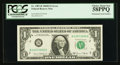Fr. 1907-B $1 1969D Federal Reserve Note. PCGS Choice About New 58PPQ