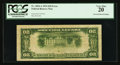 Error Notes:Inverted Reverses, Fr. 2054-A $20 1934 Inverted Reverse Federal Reserve Note. PCGSVery Fine 20.. ...
