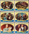 "Movie Posters:Adventure, Bride of Vengeance (Paramount, 1949). Lobby Cards (10) (11"" X 14"").Adventure.. ... (Total: 10 Items)"