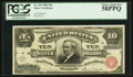 Large Size:Silver Certificates, Fr. 292 $10 1886 Silver Certificate PCGS Choice About New 58PPQ.....