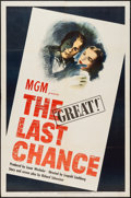 "Movie Posters:War, The Last Chance (MGM, 1945). One Sheet (27"" X 41""). War.. ..."