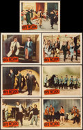 """Movie Posters:Rock and Roll, Let's Rock (Columbia, 1958). Lobby Cards (7) (11"""" X 14""""). Rock andRoll.. ... (Total: 7 Items)"""