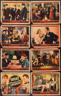 """What Becomes of the Children? (Puritan, 1936). Lobby Card Set of 8 (11"""" X 14""""). Exploitation. ... (Total: 8 It..."""