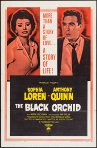 "The Black Orchid and others Lot (Paramount, 1958). One Sheets (4) (27"" X 41""). Romance. ... (Total: 4 Items)"
