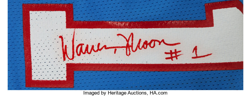 1992 Warren Moon Game Worn fd3f28089