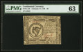 Colonial Notes:Continental Congress Issues, Continental Currency February 17, 1776 $8 PMG Choice Uncirculated63.. ...