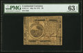 Colonial Notes:Continental Congress Issues, Continental Currency May 10, 1775 $6 PMG Choice Uncirculated 63 EPQ.. ...