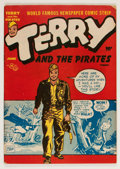 Golden Age (1938-1955):Adventure, Terry and the Pirates #4 (Harvey, 1947) Condition: FN/VF....