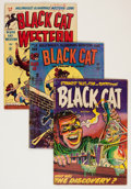 Golden Age (1938-1955):Horror, Black Cat Group (Harvey, 1947-62) Condition: Average GD/VG....(Total: 6 Comic Books)