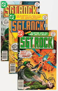 Sgt. Rock Group (DC, 1977-92) Condition: Average VF/NM