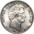 German States:Bavaria, German States: Bavaria. Ludwig I Taler 1837,...