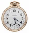 Timepieces:Pocket (post 1900), Hamilton 21 Jewel Model 992 Open Face Pocket Watch . ...