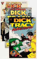 Modern Age (1980-Present):Miscellaneous, Dick Tracy Monthly/Weekly Plus Box Group (Blackthorne Publishing, 1980s) Condition: Average NM....