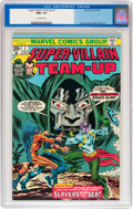 Bronze Age (1970-1979):Superhero, Super-Villain Team-Up #1 (Marvel, 1975) CGC NM+ 9.6 Off-white pages....