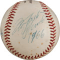 Autographs:Baseballs, 1956-66 National League MVP's Multi-Signed Baseball withClemente....
