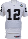 Football Collectibles:Uniforms, 1999-2002 Rich Gannon Game Worn, Signed Oakland Raiders Jersey - With Built In Handwarmer (Backup Jersey for SB)....