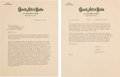 Autographs:Letters, 1961 Jackie Robinson Signed Letter to Dodgers General Manager Ending Relationship with the Team....