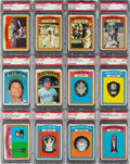 Baseball Cards:Lots, 1972 Topps Baseball PSA Mint 9 Collection (67) With Complete AwardsRun. ...