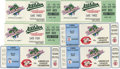 Baseball Collectibles:Tickets, 1990 World Series Ticket Stubs Lot of 6. The 1990 World Seriesfeatured a rematch of the 1972 Series, with the heavily favo...