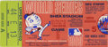 Baseball Collectibles:Tickets, 1969 World Series Ticket Stub Miracle Mets. We offer a ticket stubfrom the fifth and final game of the 1969 World Series. ...