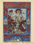 "Music Memorabilia:Posters, Grateful Dead ""Skull and Roses"" Avalon Ballroom Handbill (FamilyDog 26, 1966). September 16 - 17, 1966. Measures 8 1/2"" x 1...(Total: 1 Item)"