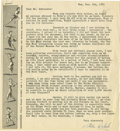 Autographs:Others, 1951 Stella Walsh Signed Typed Letter. One of the finest earlyfemale athletes was the agile Stella Walsh, who set over 100...