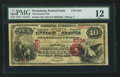 National Bank Notes:Pennsylvania, Pennsburg, PA - $10 1875 Fr. 416 The Farmers NB Ch. # 2334. ...