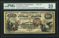 National Bank Notes:Pennsylvania, Lewistown, PA - $10 1882 Brown Back Fr. 482 The Mifflin County NBCh. # 1579. ...