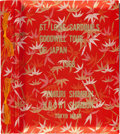 Baseball Collectibles:Photos, 1968 St. Louis Cardinals Tour of Japan Photograph Album Belongingto Stan Musial....
