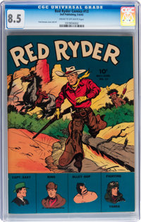 Red Ryder Comics #13 (Dell, 1943) CGC VF+ 8.5 Cream to off-white pages