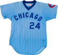 Baseball Collectibles:Uniforms, 1979-81 Chicago Cubs Game Worn Jersey....