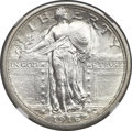 Standing Liberty Quarters, 1916 25C MS65 Full Head NGC....
