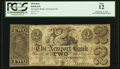 Obsoletes By State:Rhode Island, Newport, RI- The Newport Bank $2 Sep. 1, 1852 G24 Durand 648. ...