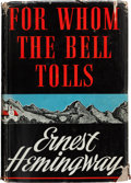 Books:Literature 1900-up, Ernest Hemingway. For Whom the Bell Tolls. New York: CharlesScribner's Sons, 1940. First edition, first printing wi...
