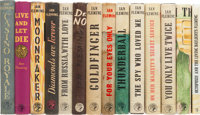Ian Fleming. Complete Set of British First Editions of the James Bond Books, including: