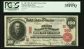Mount Vernon, IN - $100 1902 Red Seal Fr. 686 The First NB Ch. # (M)366