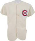Baseball Collectibles:Uniforms, 1970's Roy Smalley Old Timers Game Worn Chicago Cubs Uniform....
