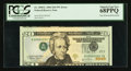 Error Notes:Inverted Third Printings, Fr. 2090-L $20 2004 Federal Reserve Note. PCGS Superb Gem New68PPQ.. ...