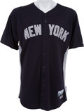 Baseball Collectibles:Uniforms, 2012 Derek Jeter Spring Training Game Worn New York Yankees Jersey....