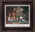 Miscellaneous Collectibles:General, San Francisco Greats, etc. Multi Signed Prints Lot of 2....