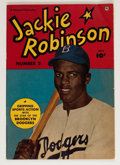 Golden Age (1938-1955):Non-Fiction, Jackie Robinson #2 (Fawcett Publications, 1950) Condition: FN-....