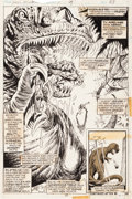 Original Comic Art:Splash Pages, Billy Graham and Pablo Marcos Jungle Action #14 Splash Page27 Original Art (Marvel, 1975)....