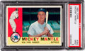 Baseball Cards:Singles (1960-1969), 1960 Topps Mickey Mantle #350 PSA Mint 9 - None Higher! ...