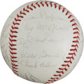 Autographs:Baseballs, 1965 New York Mets Team Signed Baseball....